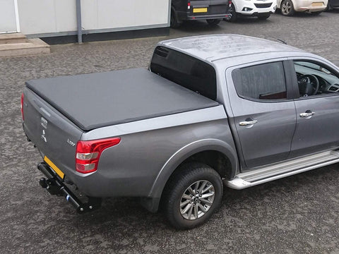 Mitsubishi L200 Series 5/6 2015-On | Tri-Fold Soft Framed Tonneau Cover
