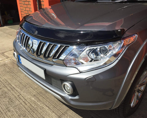 Mitsubishi L200 2015-On  | EGR Dark Smoked Bonnet Guard