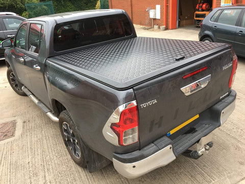 EGR Aluminium Tonneau Cover | Toyota Hilux MK9 2016-On | PickupTopsUK