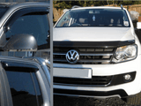 VW Amarok 2011-2018 |EGR Quad Wind Deflector and Bonnet Guard Set