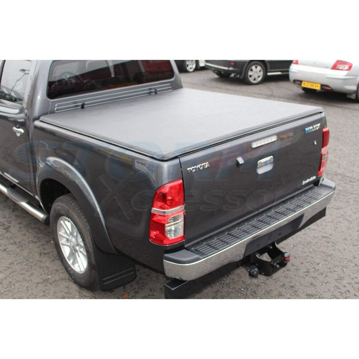 Toyota Hilux 2005 2015 Soft Roll Up Tonneau Cover Pickuptopsuk Pick Up Tops Uk