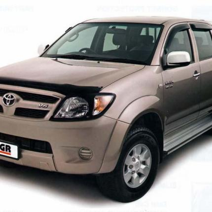 Toyota Hilux 2005-2010  | EGR Dark Smoked Bonnet Guard