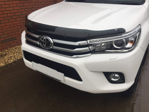 Toyota Hilux MK9 2016-On  | EGR Dark Smoked Bonnet Guard