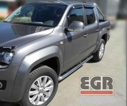 VW Amarok 2012-On | EGR Wind Deflectors | PickupTopsUK