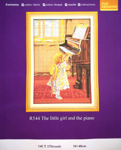 The Little Girl and the Piano