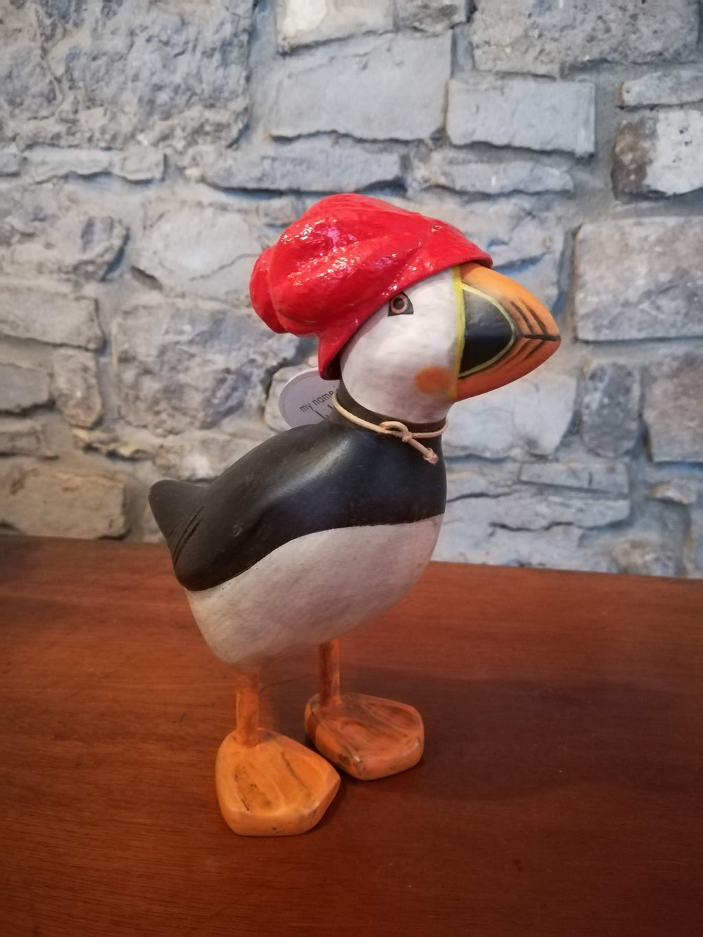 Puffin (red hat) cosy