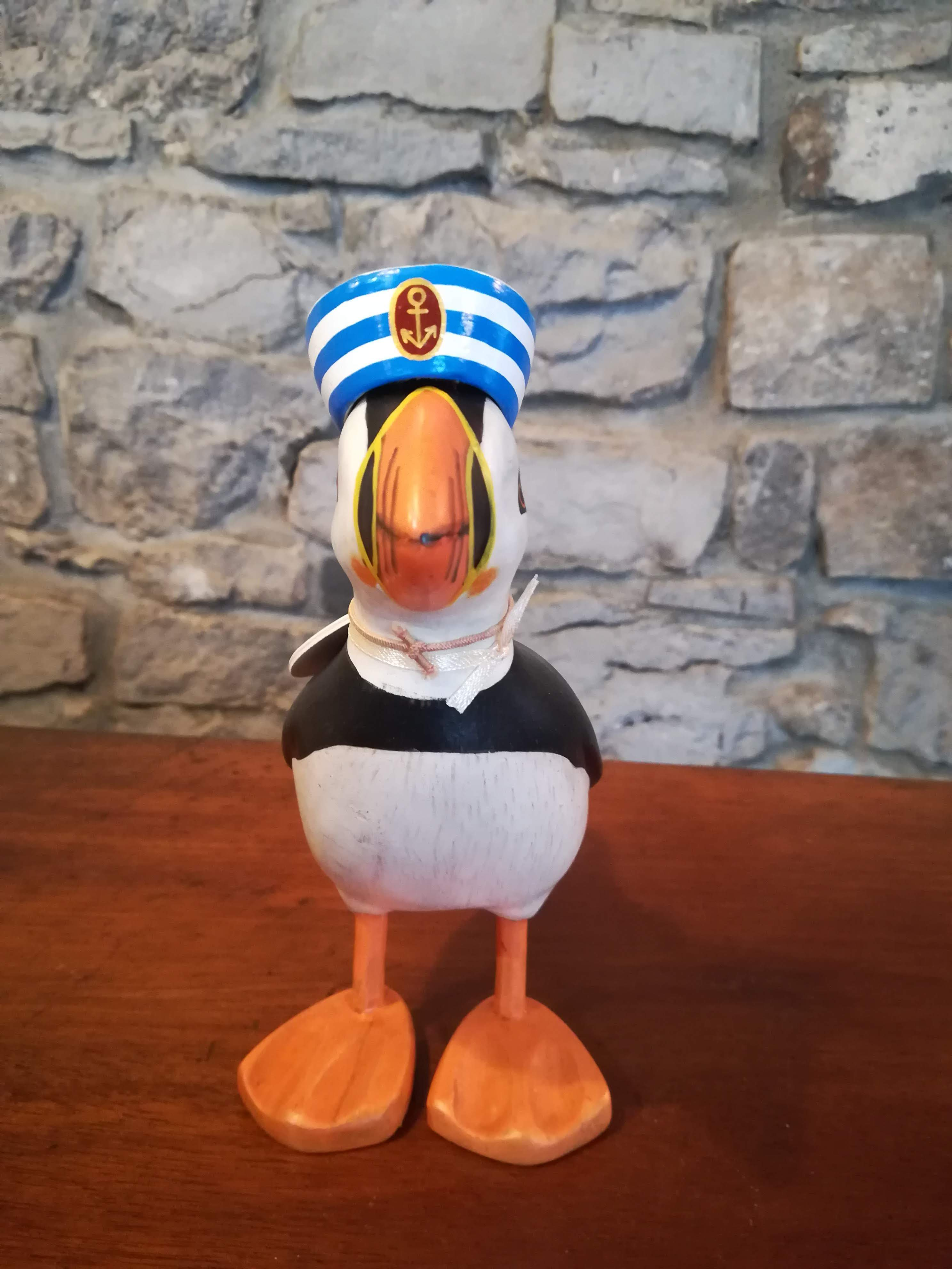 Puffin (white and blue hat) Sailor