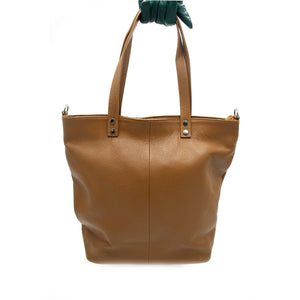 Madison Leather tote shopper