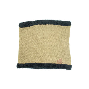 Knitted Cowl/Snug with fleece lining