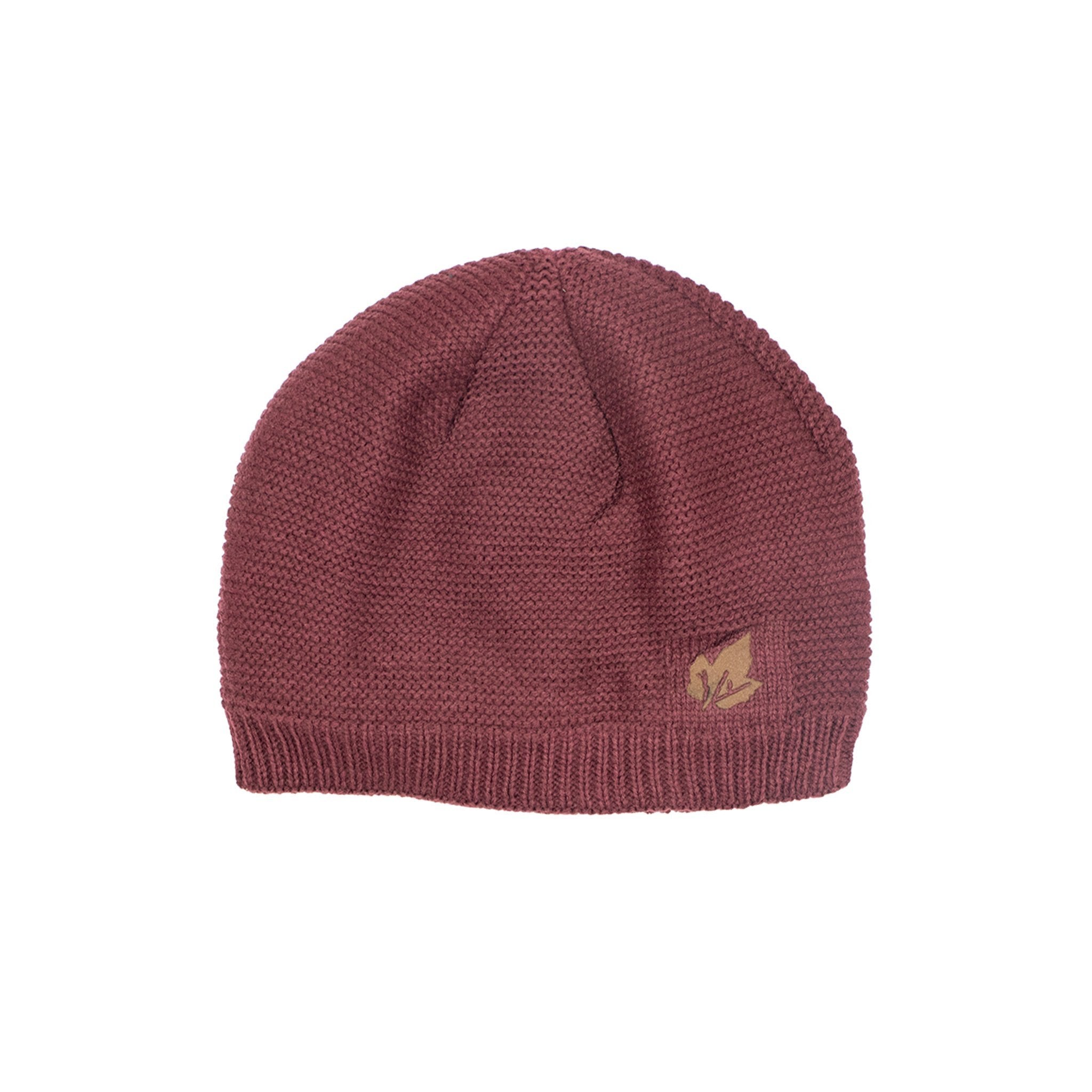 Fleece Lined Knitted Beanie Hat