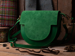 The Millie Leather Saddle Bag