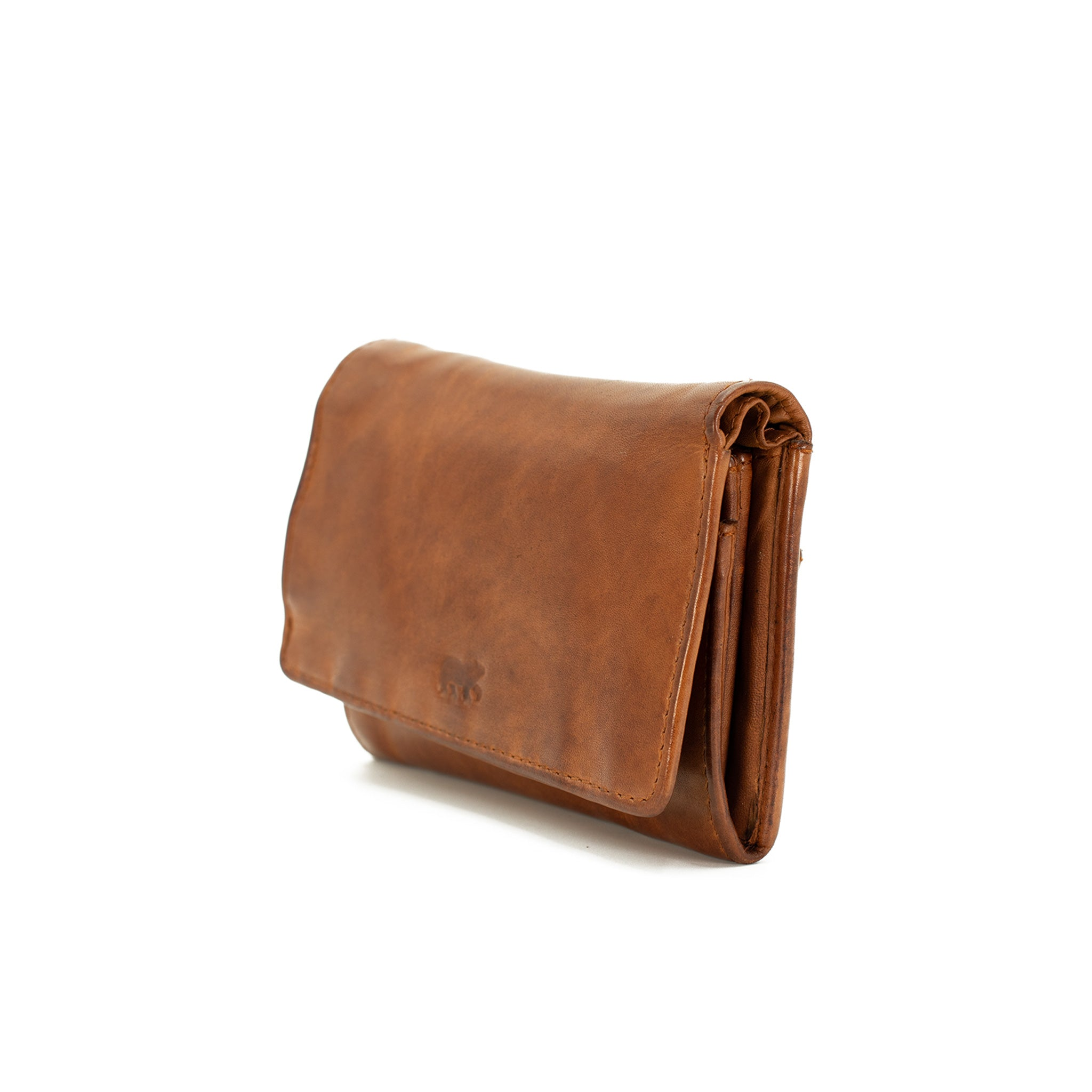 Classic Leather Purse By Bear Design