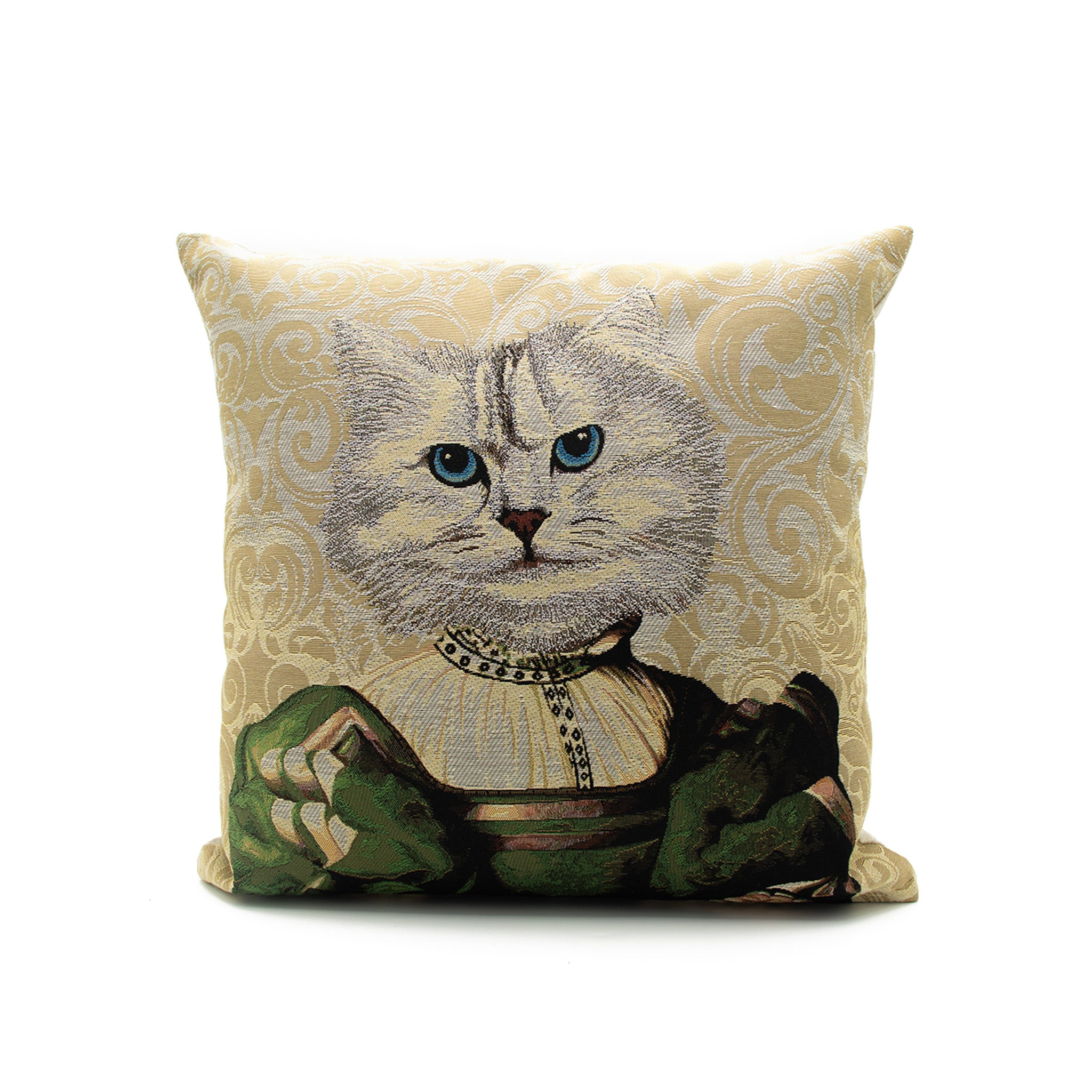 Regal Cat Cushion