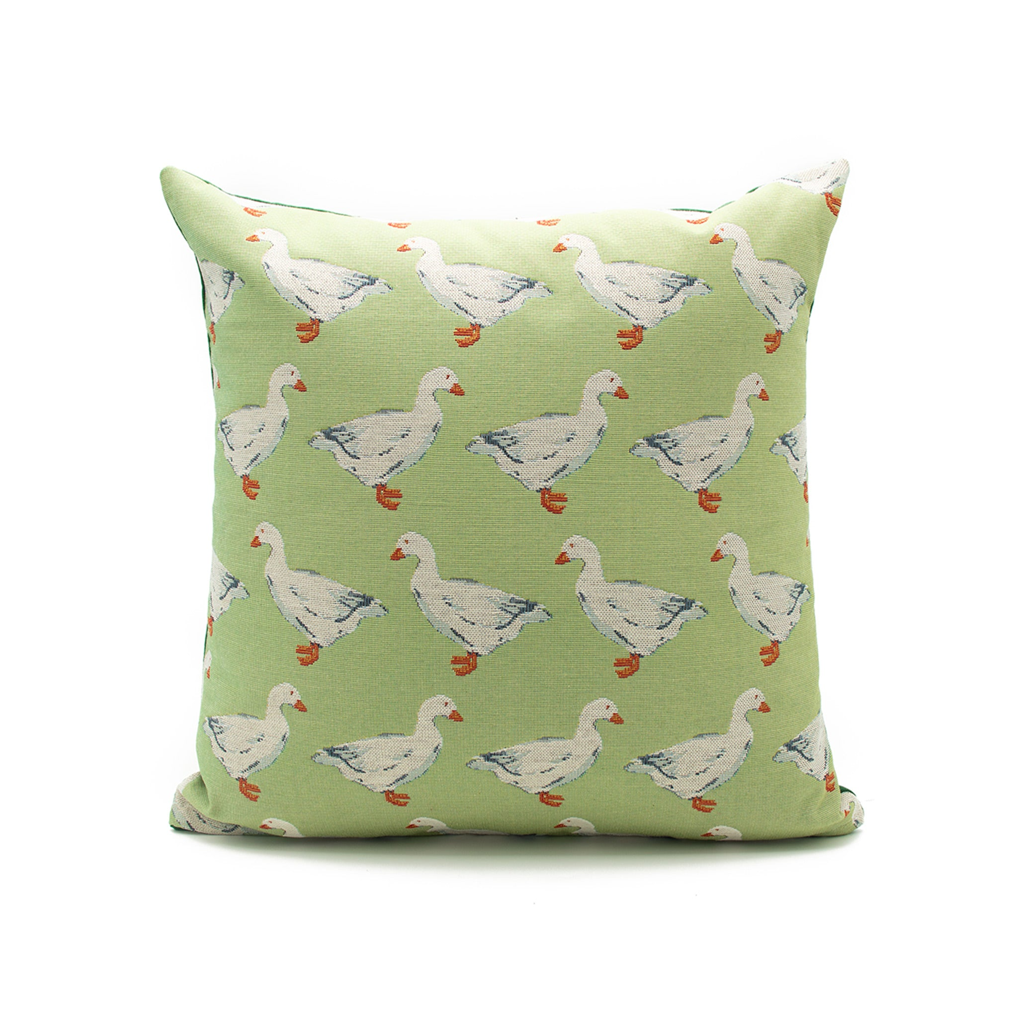 Waddling ducks cushion