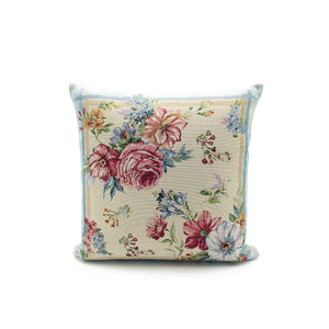 Garden flowers cushion
