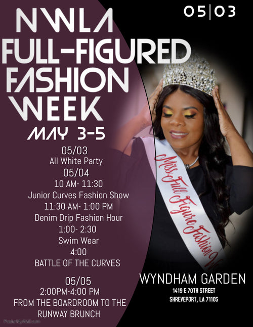 Full Figured Fashion Show May 4th