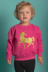 Unicorn Sweater: Pink