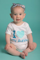 I love my Auntie Onesie: Blue