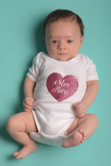 Personalised Heart Onesie