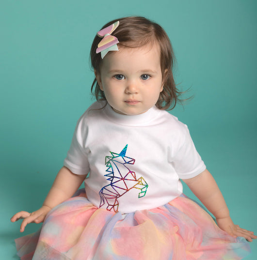 Unicorn Tee: Rainbow