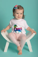 1st birthday Unicorn Tee