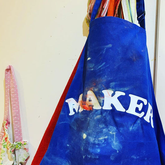 Personalised 'Maker' Apron