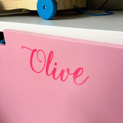 Large Personalised vinyl decals
