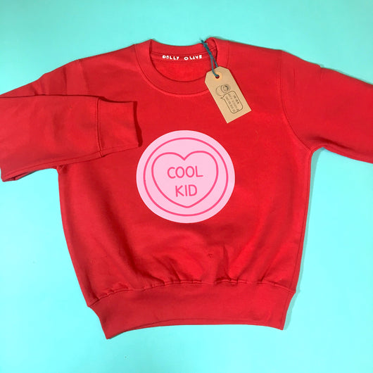 Love Heart Kids Sweater