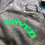 Kids 'Loved' Sweater