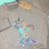 Holographic Unicorn Sweater