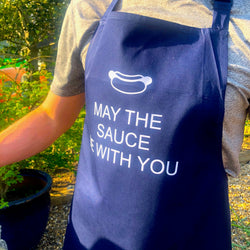 'May the sauce be with you' Men's Apron