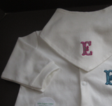 Embroidered Patch Onesie