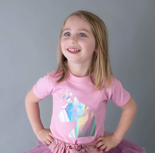 unicorn girls t-shirt shirt top cake smash outfit unicorn party outfit girls toddler fashion toddler gift toddler present unique personalised