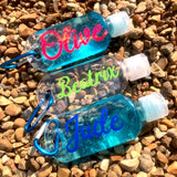 Personalised 50ml Sanitiser Bottles