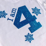 "Frozen ""I am 4' tee"