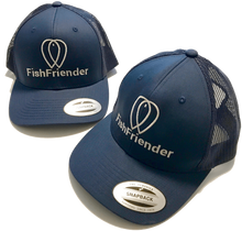 Casquette FishFriender - Filet Trucker Bleu Marine