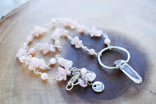 Crystalline Orca Whale Stained Glass Hanging {Green Crystals}