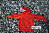 Puddlegear Red Kids Raincoat with Hood
