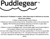 Puddlegear Rain o so fabulous Kids Rain Mittens