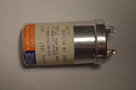 Sprague TVL-2447 Capacitor New Old Stock
