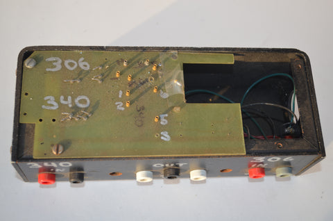 Custom Built Test Jig for Neve 306 and 340 Amp Boards