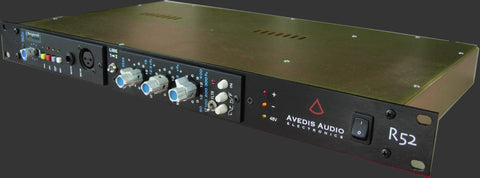 "Avedis Audio R52 Powered 19"" Rack for 2 Modules : Free Shipping in the USA"