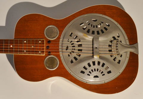 Dobro Model 37 1934 - 1936 round neck set up for lap steel Sounds incredible!