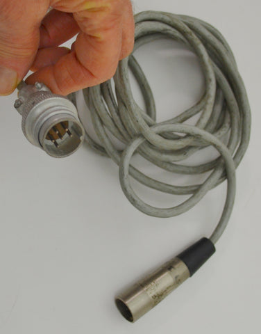 Akg C12a Cable    C12a male to XLR connectors