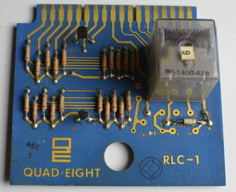 Quad Eight RLC-1 Relay Cards