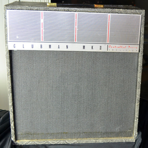 WEM Vintage Clubhouse Tube Guitar Amplifier Tastefully recovered...