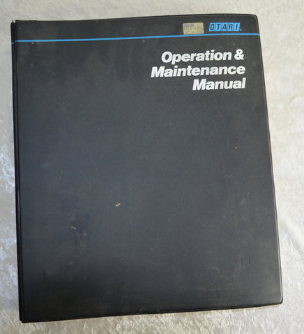 Otari Mtr90 Operation and Service Manual