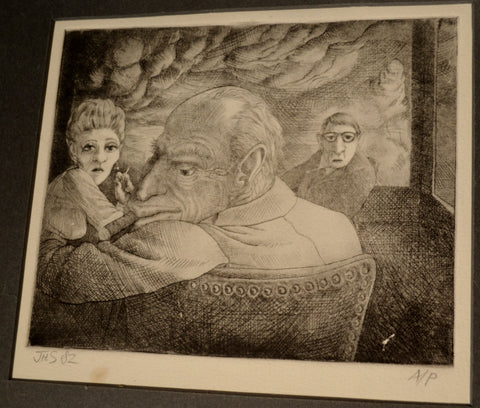 Art: John Seabury Original 1982 Print Artists Proof