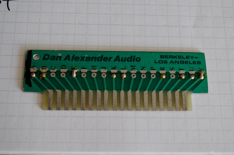 Dan Alexander Audio Replacement Connectors For Neve 18 Pin Amphenol