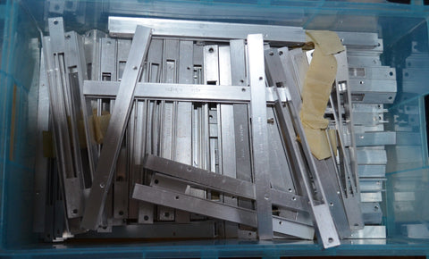 Neve Amphenol Connector Rails N.O.S.